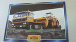 Daf F2800 1977 Low Loader Truck framed picture